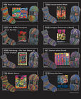 OPAL Hundertwasser III Spar-Sets 75% Schurwolle, 25% Polyamid +Button Birthday