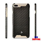 For iPhone 7 7Plus Thin Real Pure 100% Carbon Fiber Matte Glossy Case Cover