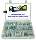 SPECBOLT CUSTOM M6 REDUCED HEAD FLANGE BOLT KIT MOTORCYCLE ATV SERVICE PROVIDERS