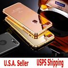 Apple iPhone 7 /7 Plus + Luxury Ultra-Thin Polished Plated Metal Cover Case