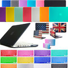 """MacBook AIR 13"""" Rubberized Hard Matte Case + Keyboard Cover Package Set - New"""