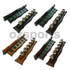 Wall Cue Rack with Brass Cue Clips for Pool Snooker Billiards Free Postage $45.49 AUD on eBay