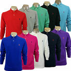Polo Ralph Lauren Men's Classic Long Sleeves Cotton Shirts, No Pattern - RRP £75