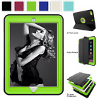 Tri-Fold Heavy Duty Case Smart Cover For iPad mini/Air/Pro Shockproof Defender