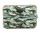 """Blue Camouflage Laptop Sleeve Computer case for 10"""" 11"""" 12"""" 13"""" 14"""" 15"""" Tablet"""
