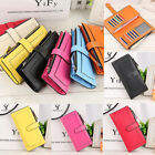 Fashion Lady Women's Wallet Leather Handbag Clutch Card Holder Cases Long Purse image