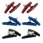 2 Pairs V Type Brake Pads Shoes For BMX Road MTB Bike Bicycle Road Cycling
