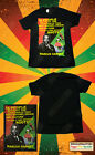 MARCUS GARVEY BLACK T-SHIRT ROOTS RASTA REGGAE