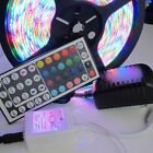 300 LED Light Strip 5M 3528 RGB Waterproof for XMAS Party+2A power +44Key remote