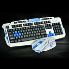 New Wireless 2.4G Gaming keyboard and Mouse Set For Computer PC Multimedia Gamer фото