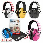 ALPINE MUFFY CHILDREN EAR DEFENDERS For Kids Ear Muffs - FREE BAG + UK P&P!