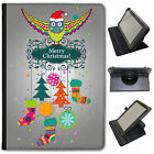 Merry Christmas Christmas Decorations Universal Leather Case For Sony Tablets