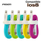 Pisen 80cm Apple iPhone 5 5s 6 6+ Lightning USB Data Sync Cable Charger Line