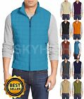 Mens Casual Quilted Zipper Padding Vest Super Lightweight S-XL Outdoor Sports