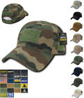 1 Dozen 6 Panel Cotton Military Army Camo Relaxed Crown Caps Hats Wholesale