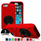 Hard Outer Box Back Case Cover wth  Kickstand for iPhone 6 Plus