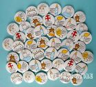 Happy Birthday 45pcs 45MM LOTS PIN BACK BADGES BUTTONS NEW FOR BAG CLOTH PARTY