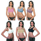 Junior Bra with Removable Modesty Pads  6 colours available
