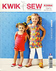 KWIK SEW PATTERN TOP SHORTS PANTS GIRLS' SIZE XXS-XS-S-M-L # K3984