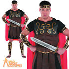 Adult Roman Centurion Costume Marc Anthony Mens Gladiator Warrior Fancy Dress