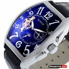 Mechanical Skeleton Wrist Automatic Watch Classic Stainless Men's Sport Luxury