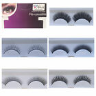 False Eyelashes Premium Quality Natural Glam Re-useable Strip Pair + Glue
