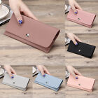 Women Fashion PU Leather Wallet Case Purse Lady Soft Long Handbag Card Holder
