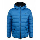 new NIKE 678295-453 mens L alliance DOWN JACKET COAT 550 FILL game royal/black