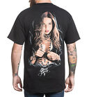 Sullen Blessing Mens Black T Shirt Tattoo Urban Streetwear David Garcia