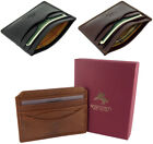 VISCONTI Small Wallet Real Leather Credit Card Holder New in Gift Box MZ1