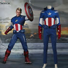 captain america the avengers suit - Superhero Movie The Avengers 1 Captain America Cosplay Costume Steve Adult Suits