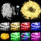200/300/500 LED Xmas Fairy String Lights Lighting Christmas Decor Party Wedding