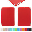 SMART ULTRA SLIM MAGNETIC STAND LEATHER CASE COVER FOR iPad 4 3 2 Mini Air LOT