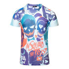 DC Comics Official Suicide Squad All Over Trust Unisex Multi Coloured T Shirt