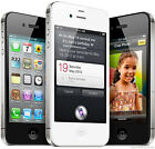 Apple iPhone 4S 8 16 32 64GB EE 02 3 Unlocked Smartphone Excellent Mobile Black <br/> Excellent+Box+Charger+Screen Protector+Wipe+Sim Ejector