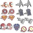 marvel The Avengers CUFFLINKS MENS boys COSTUME birthday PARTY CUFF LINKS