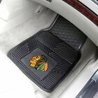 NHL VINYL CAR MATS - SET OF 2 - CHOOSE YOUR FAVORITE TEAM!