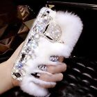 Fox Soft Warm Rabbit Fur Furry Case Cover For Apple iPhone 7/7 Plus Covers italy