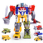 Transformers Robot Warpath Voyager Leader Class Prime Justice Kids Toy Model NEW