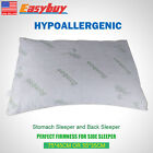 Hotel Comfort with Stay Cool Premium Bamboo Pillow with Shredded Memory Foam