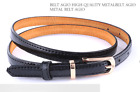 Fashion Vintage Genuine Leather Cowhide Women's Luxury Buckle Belt High Quality