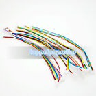 10Pcs Double Header 1.25mm Pitch Electronic Connector Wire 2-10P 15CM