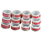 Printed Low noise Adhesive Packaging Parcel Tape Multilisting - 48mm x 66m
