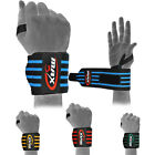 Power Weight Lifting Wrist Wraps Bandage Hand Support Gym Straps Brace Cotton