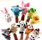 10Pcs Fun Finger Puppets Cloth Doll Baby Educational Hand Animal Toy Story Kid