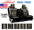 Coverking Real Tree Camo Custom Seat Covers Fiat 500