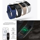 New Fitness Watch Smart Bluetooth Blood Pressure/Oxygen Activity Tracker Calorie