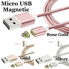 2.4 A Micro USB Charging Cable Magnetic Adapter Charger For Samsung Android Lot