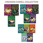 Cressida Cowell How To Train Your Dragon Collection Gift Wrapped New Set