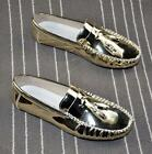 Vogue Men's Tassels Faux Patent Leather Loafers Flat Driving Oxford Slip On Shoe